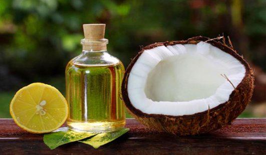 trị viêm nang lông ở tay bằng dầu dừa